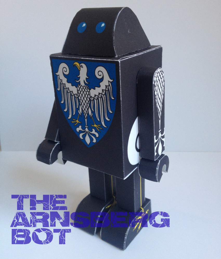 The Arnsbergbot Paper Toy
